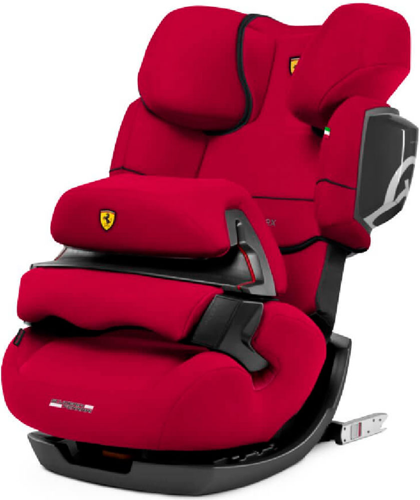 Cybex Pallas 2 Fix (FE Ferrari Racing Red)