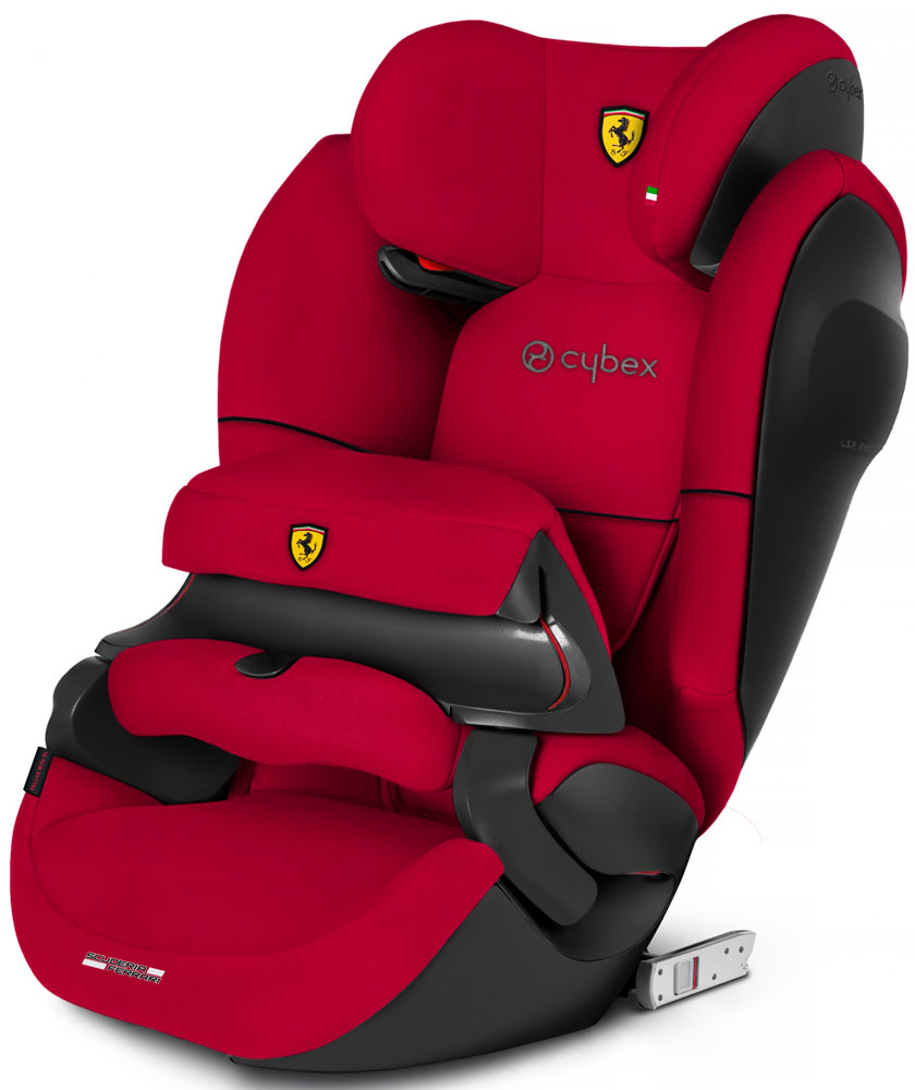 Cybex Pallas M-Fix SL (FE Ferrari Racing Red)