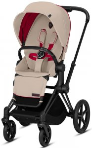 Cybex Прогулочная коляска Priam Fashion Collection Ferrari Silver Grey