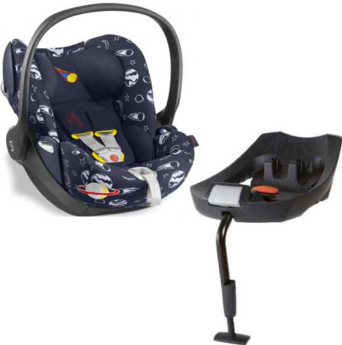 Cybex Cloud Q c Isofix базой Q (Space Rocket by Anna K)
