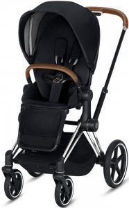 Cybex Priam III (Premium Black на шасси III Chrome)