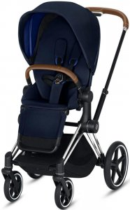 Cybex Priam III (Indigo Blue на шасси III Chrome)