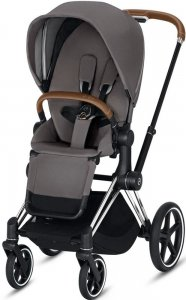 Cybex Priam III (Manhattan Grey на шасси III Chrome)