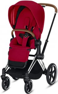 Cybex Priam III (True Red на шасси III Chrome)