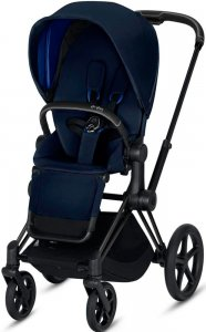 Cybex Priam III (Indigo Blue на шасси III Matt black)