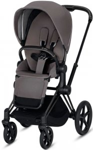 Cybex Priam III (Manhattan Grey на шасси III Matt black)