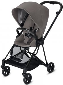 Cybex Mios (Manhattan Grey на шасси Matt Black)