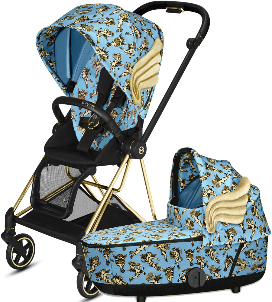 Cybex Mios Cherubs by Jeremy Scott | 2-в-1