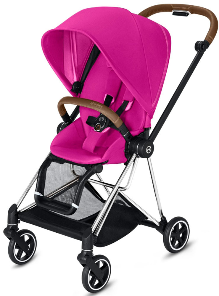 Cybex Mios (Fancy Pink на шасси Chrome)