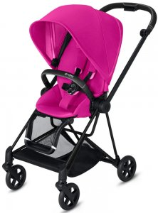 Cybex Mios (Fancy Pink на шасси Matt Black)