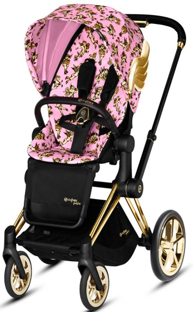 Cybex Priam III Cherubs by Jeremy Scott (FE JS Cherubs Pink)