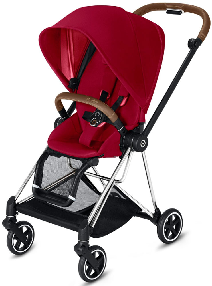 Cybex Mios (True Red на шасси Chrome)