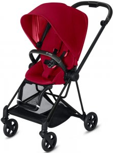 Cybex Mios (True Red на шасси Matt Black)