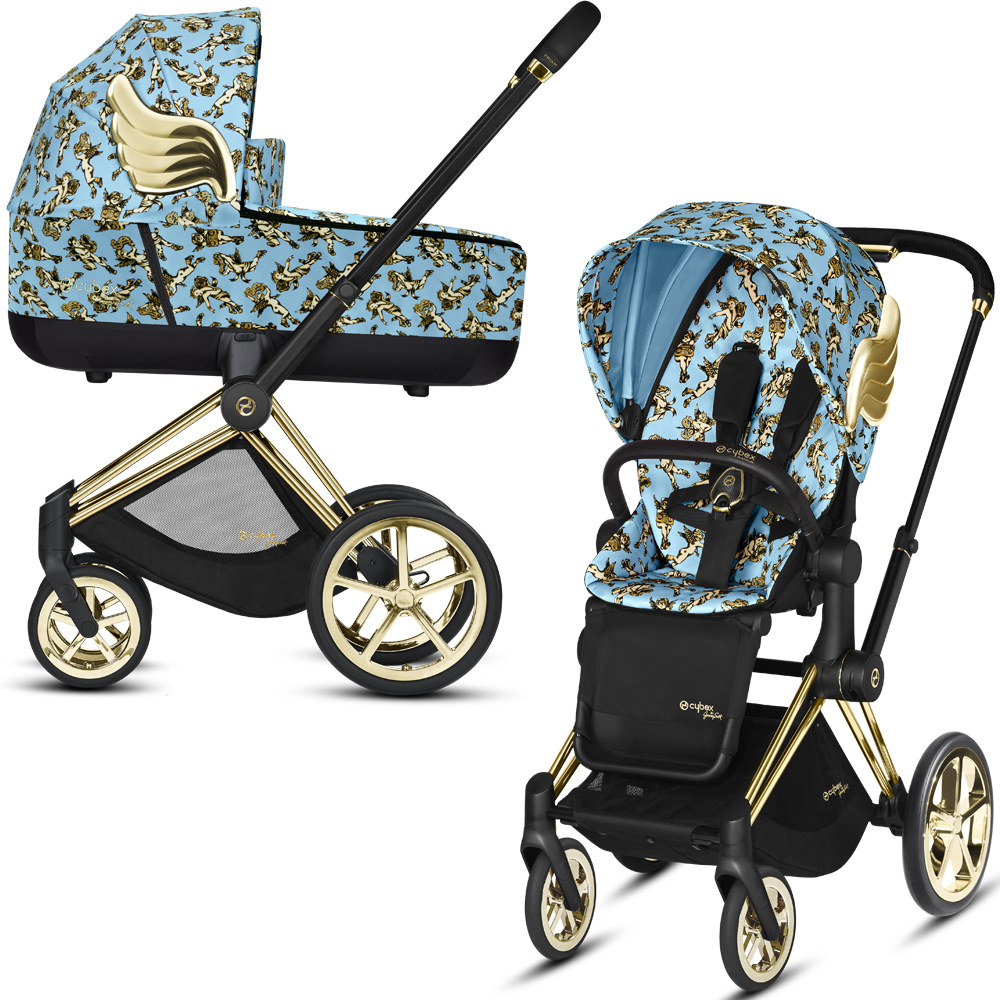 Cybex Priam III Jeremy Scott Cherubs | 2-в-1 (FE JS Cherubs Blue)