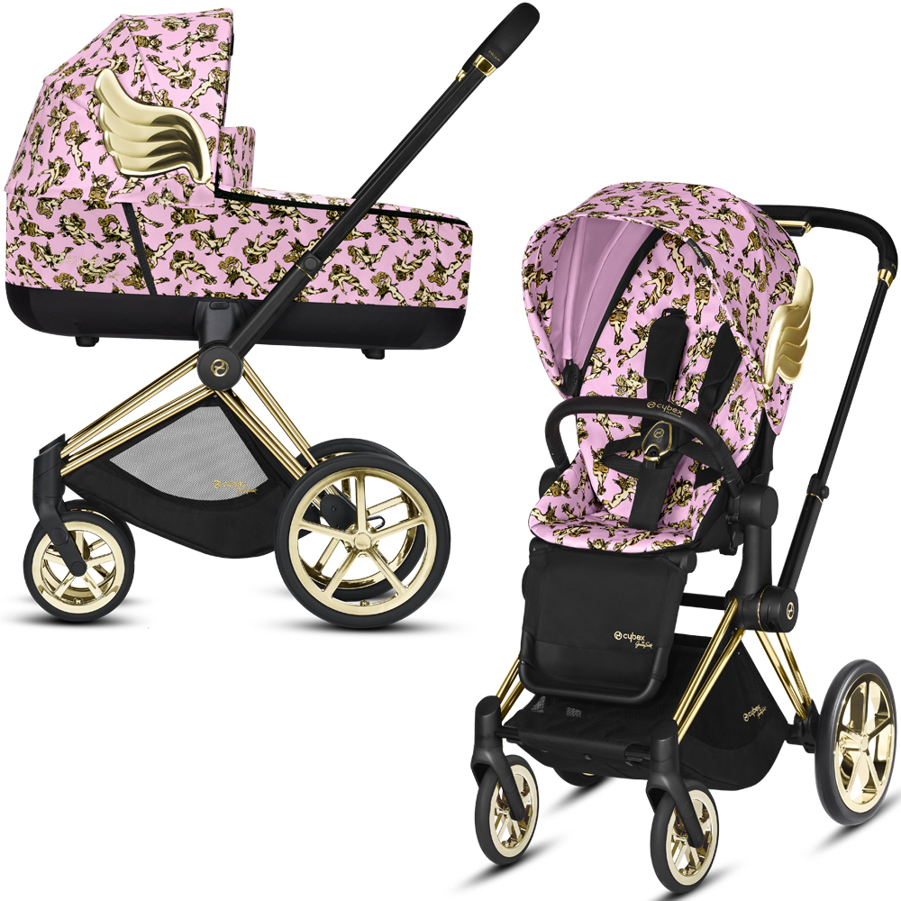 Cybex Priam III Jeremy Scott Cherubs | 2-в-1 (FE JS Cherubs Pink)