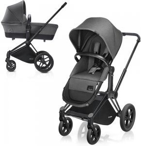 Cybex Priam Light | 2-в-1 (Manhattan Grey на шасси All Terrain Matt Black)
