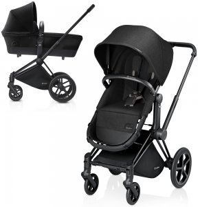 Cybex Priam Light | 2-в-1 (Happy Black на шасси Trekking Matt Black)