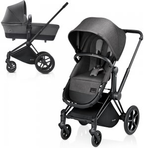 Cybex Priam Light | 2-в-1 (Manhattan Grey на шасси Trekking Matt Black)