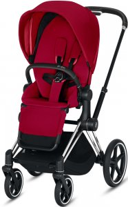 Cybex Priam III (True Red на шасси III Chrome Black)