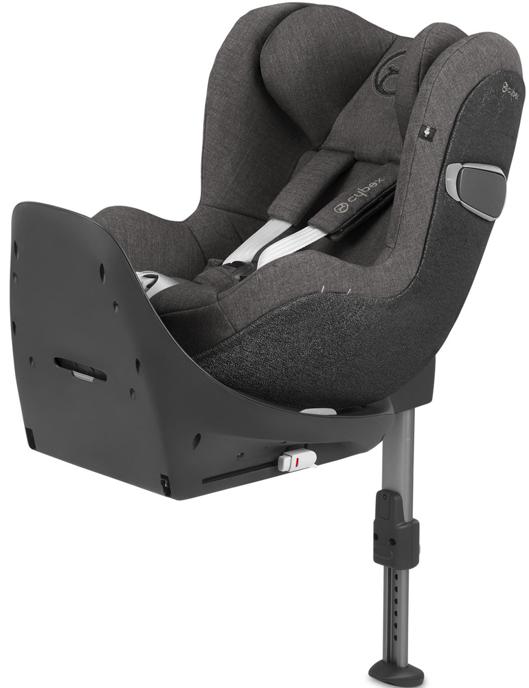 Cybex Sirona Z i-Size c базой ISOFIX Z (Manhattan Grey PLUS)