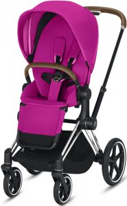 Cybex Priam III (Fancy Pink на шасси III Chrome)