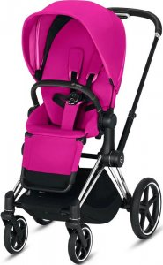 Cybex Priam III (Fancy Pink на шасси III Chrome Black)