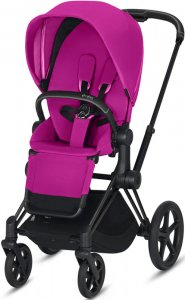 Cybex Priam III (Fancy Pink на шасси III Matt black)