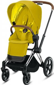 Cybex Priam III (Mustard Yellow на шасси III Chrome)