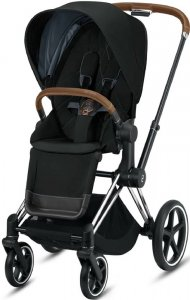 Cybex Priam III (Deep Black на шасси III Chrome)
