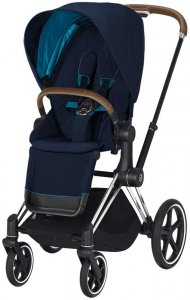 Cybex Priam III (Nautical Blue на шасси III Chrome)