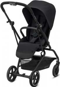 Cybex Eezy S Twist+ 2 (Deep Black на шасси Black с бампером)